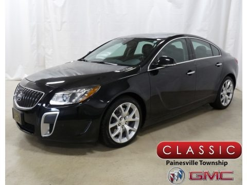 Black Diamond Tricoat 2013 Buick Regal GS