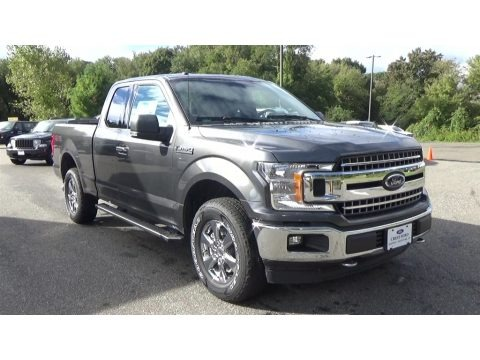 Stone Gray 2018 Ford F150 XLT SuperCab 4x4