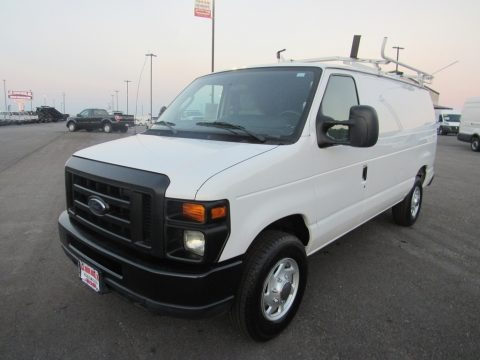 Oxford White 2013 Ford E Series Van E250 Cargo