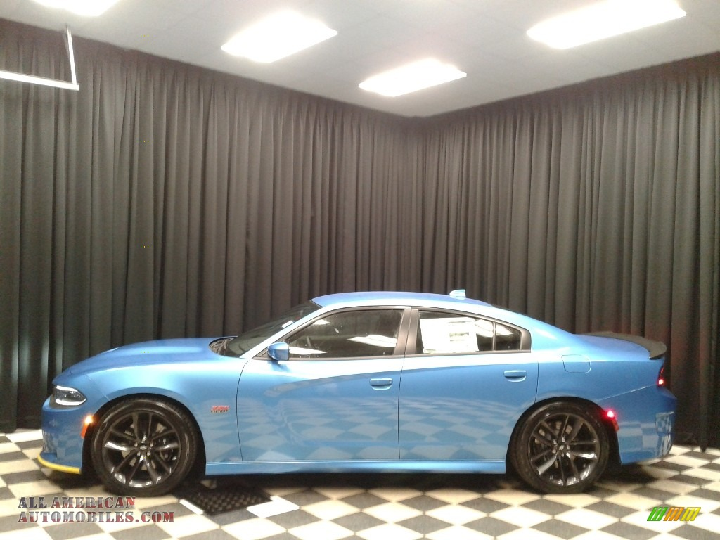 2019 Charger R/T Scat Pack - B5 Blue Pearl / Black photo #1