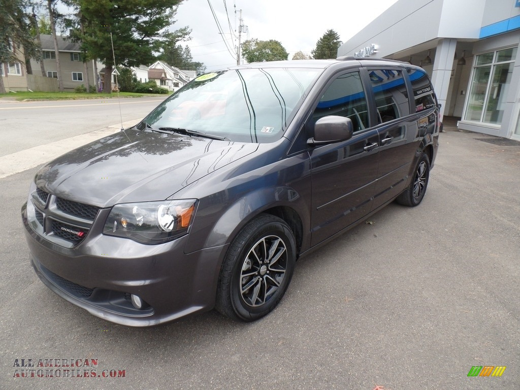 Granite / Black Dodge Grand Caravan GT