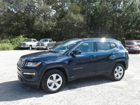 Jazz Blue Pearl 2019 Jeep Compass Latitude