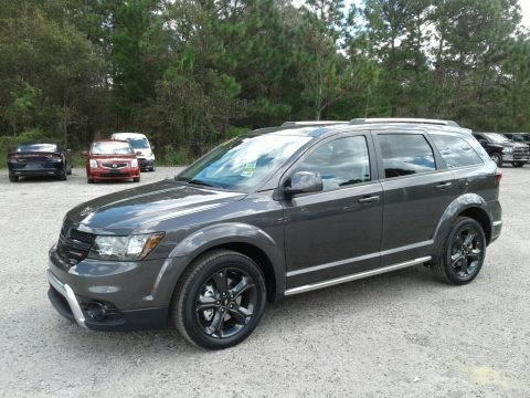 Granite Pearl 2018 Dodge Journey Crossroad