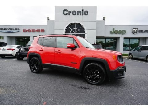 Colorado Red 2017 Jeep Renegade Latitude