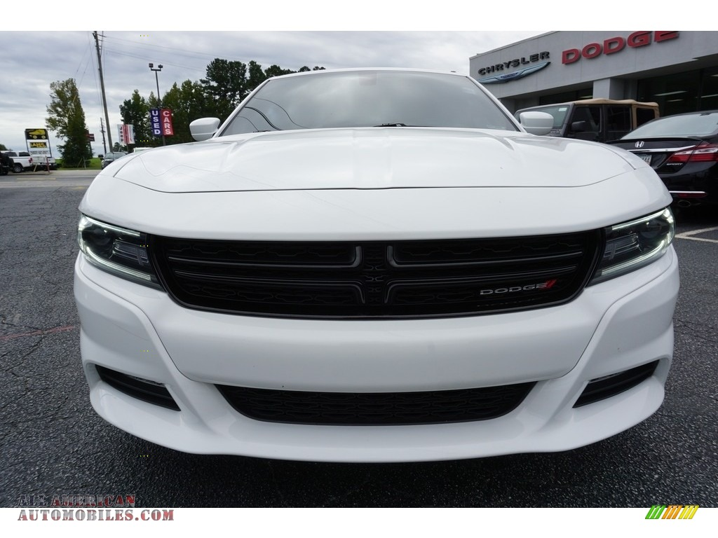 2016 Charger R/T - Bright White / Black photo #2