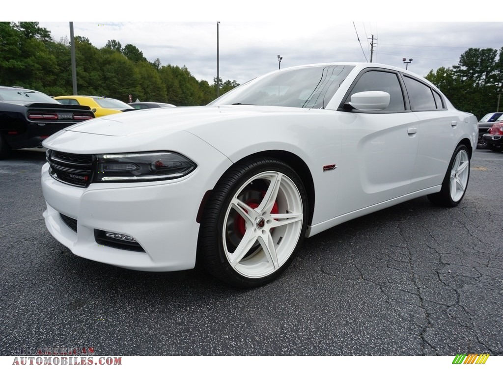 2016 Charger R/T - Bright White / Black photo #3