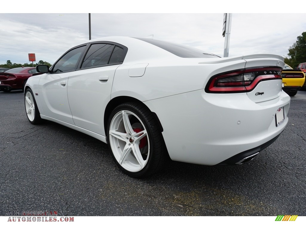 2016 Charger R/T - Bright White / Black photo #12
