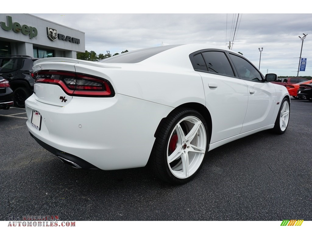 2016 Charger R/T - Bright White / Black photo #14