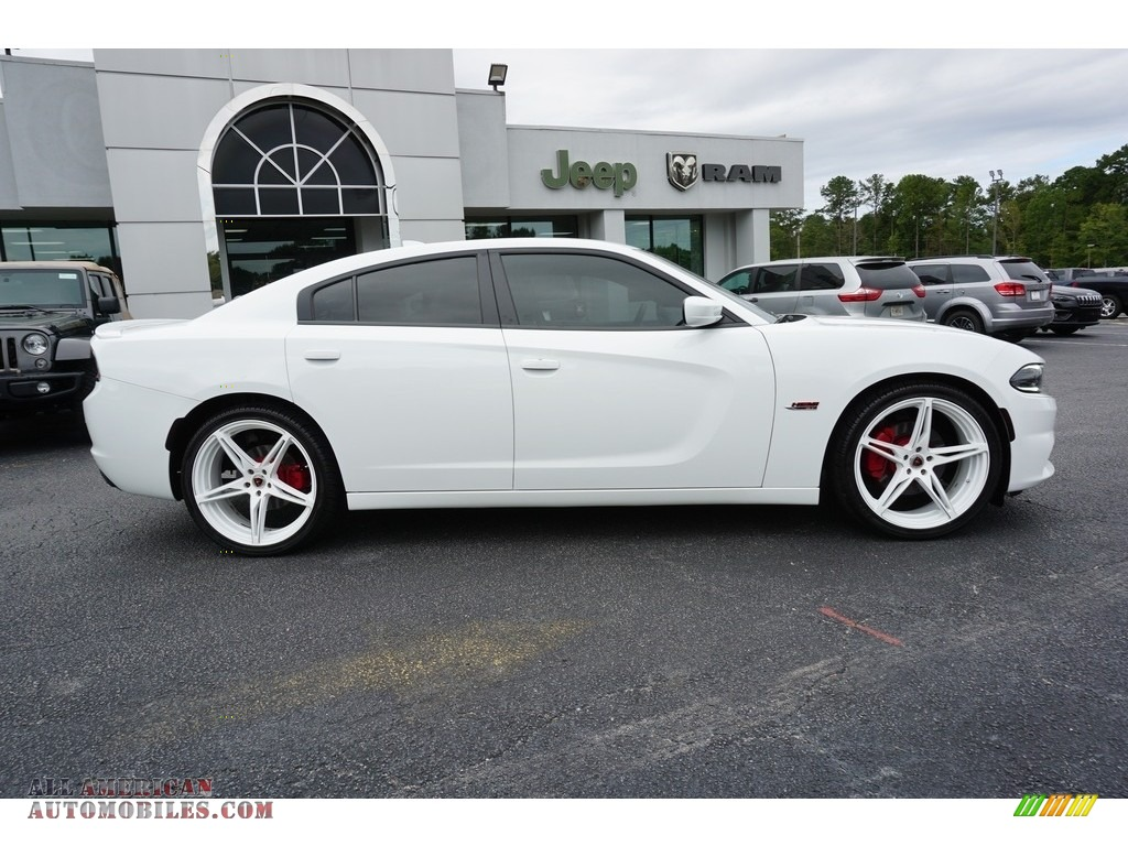 2016 Charger R/T - Bright White / Black photo #15