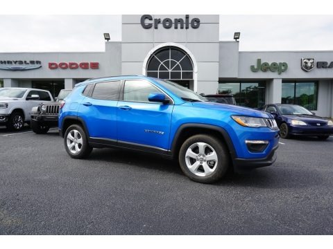 Laser Blue Pearl 2019 Jeep Compass Latitude