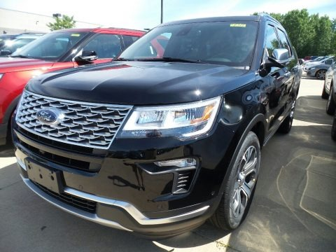 Shadow Black 2018 Ford Explorer Platinum 4WD