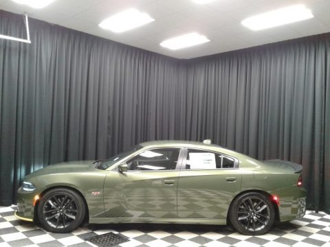 F8 Green 2019 Dodge Charger R/T Scat Pack