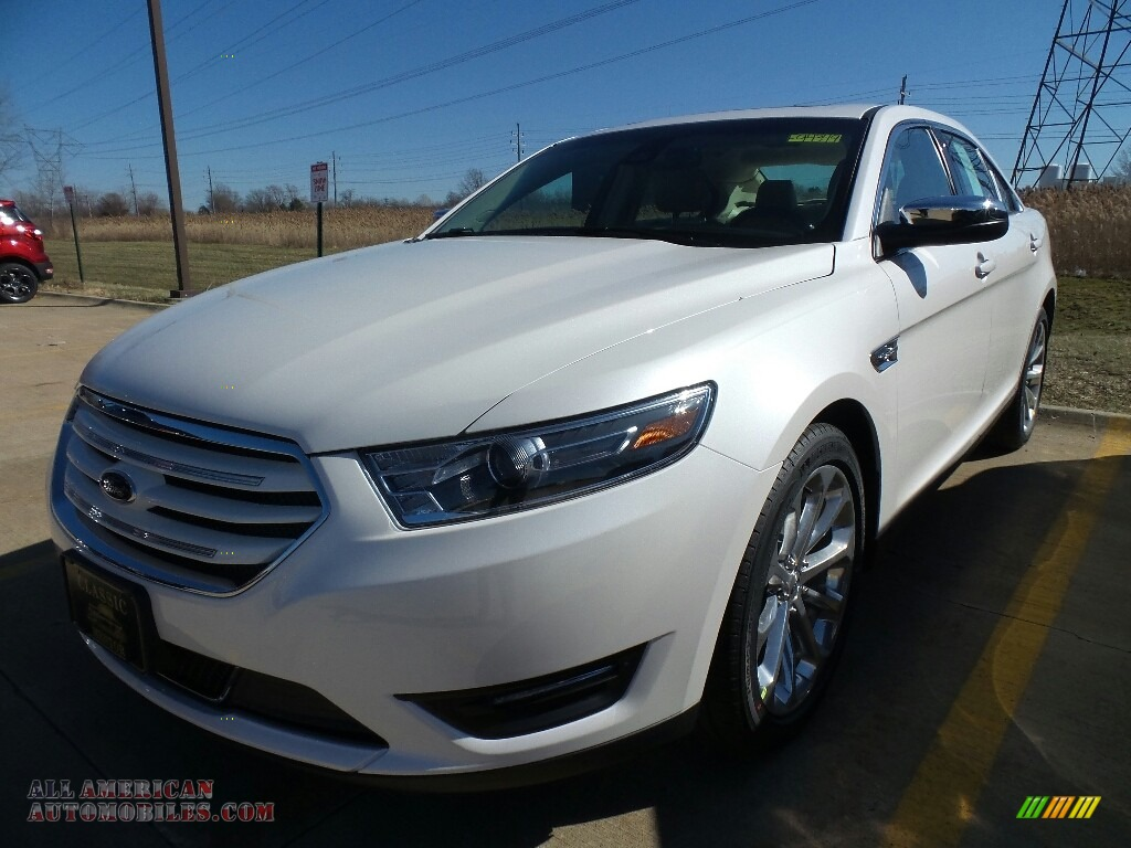 White Platinum / Dune Ford Taurus Limited
