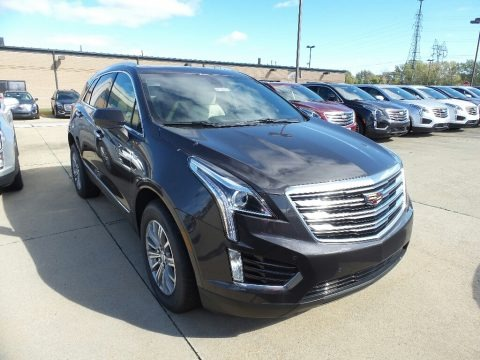 Dark Granite Metallic 2019 Cadillac XT5 Luxury AWD