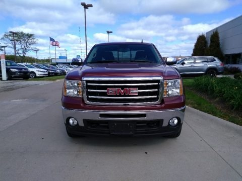 Sonoma Red Metallic 2013 GMC Sierra 1500 SLE Extended Cab 4x4