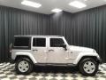 Jeep Wrangler Unlimited Sahara 4x4 Bright Silver Metallic photo #5