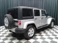 Jeep Wrangler Unlimited Sahara 4x4 Bright Silver Metallic photo #6