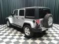 Jeep Wrangler Unlimited Sahara 4x4 Bright Silver Metallic photo #8