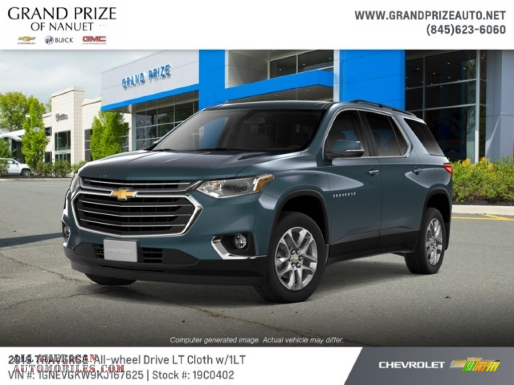 2019 Traverse LT AWD - Graphite Metallic / Jet Black photo #1