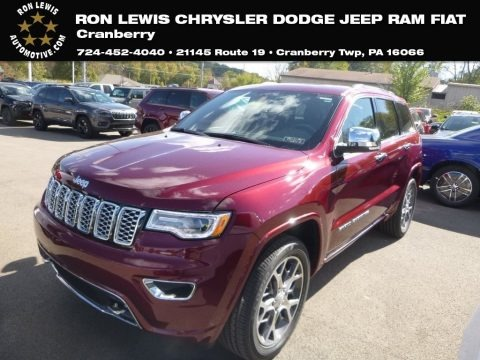 Velvet Red Pearl 2019 Jeep Grand Cherokee Overland 4x4