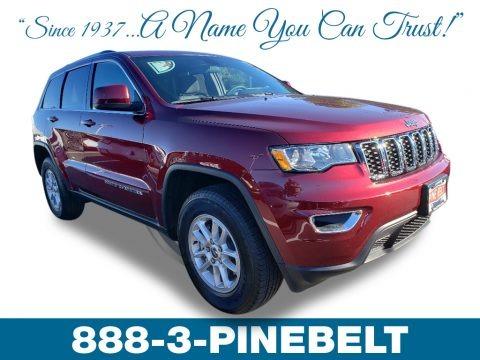 Velvet Red Pearl 2019 Jeep Grand Cherokee Laredo 4x4