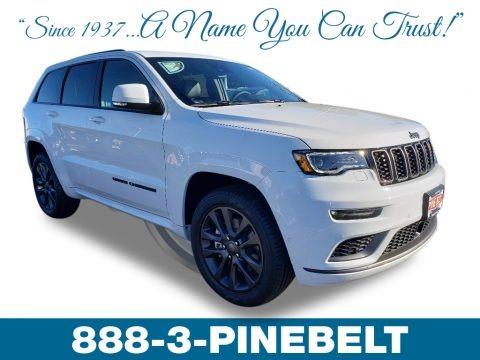 Bright White 2019 Jeep Grand Cherokee High Altitude 4x4