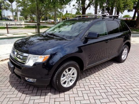 Dark Ink Blue Metallic 2008 Ford Edge SEL AWD
