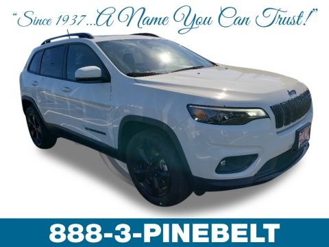 Bright White 2019 Jeep Cherokee Latitude Plus 4x4
