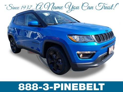 Laser Blue Pearl 2019 Jeep Compass Altitude 4x4