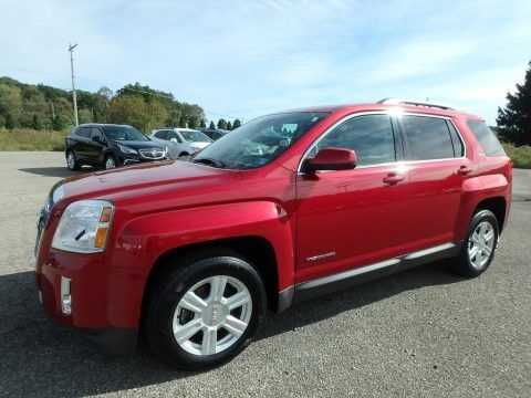 Crystal Red Tintcoat 2014 GMC Terrain SLE