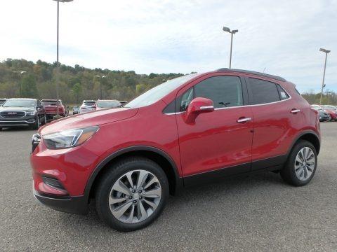 Winterberry Red Metallic 2019 Buick Encore Preferred AWD
