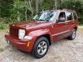 Jeep Liberty Sport 4x4 Inferno Red Crystal Pearl photo #1