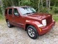 Jeep Liberty Sport 4x4 Inferno Red Crystal Pearl photo #3