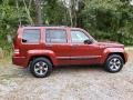 Jeep Liberty Sport 4x4 Inferno Red Crystal Pearl photo #4