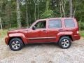 Jeep Liberty Sport 4x4 Inferno Red Crystal Pearl photo #5