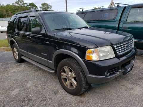 Black 2005 Ford Explorer XLT 4x4