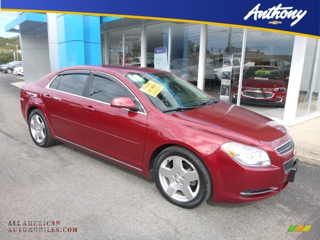 2010 Malibu LT Sedan - Red Jewel Tintcoat / Ebony photo #1