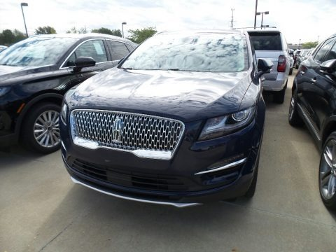 Rhapsody Blue Metallic 2019 Lincoln MKC Reserve AWD