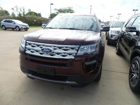 Burgundy Velvet 2019 Ford Explorer XLT