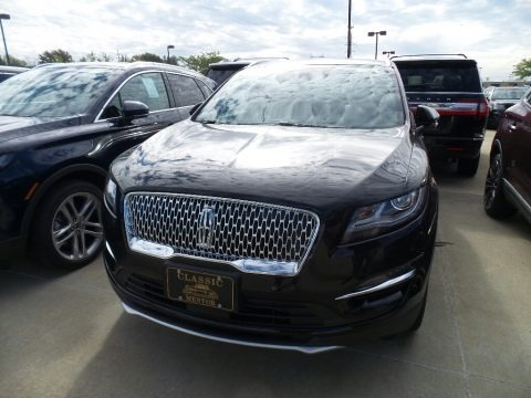 Infinite Black Metallic 2019 Lincoln MKC Reserve AWD