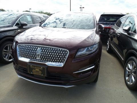 Burgundy Velvet Metallic 2019 Lincoln MKC Reserve AWD