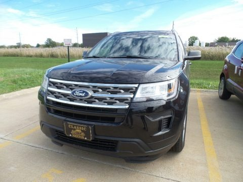 Agate Black 2019 Ford Explorer FWD