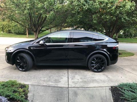 Solid Black 2018 Tesla Model X 100D