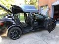 Tesla Model X 100D Solid Black photo #17
