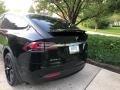 Tesla Model X 100D Solid Black photo #26
