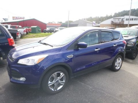 Deep Impact Blue Metallic 2015 Ford Escape SE 4WD