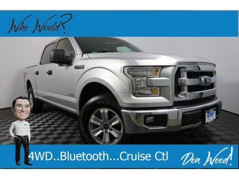 Ingot Silver 2017 Ford F150 XLT SuperCrew 4x4