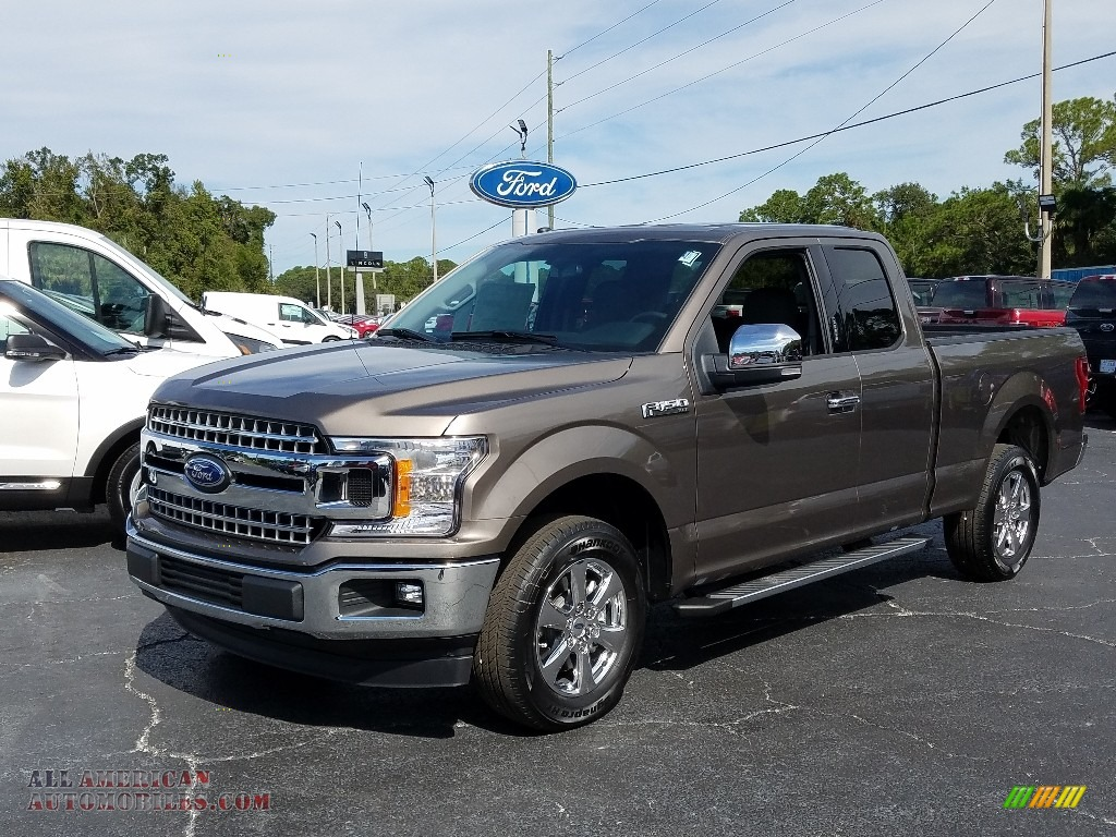 2018 F150 XLT SuperCab - Stone Gray / Earth Gray photo #1
