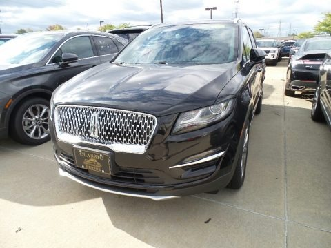 Infinite Black Metallic 2019 Lincoln MKC Select