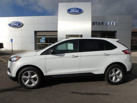 Oxford White 2019 Ford Edge SE AWD